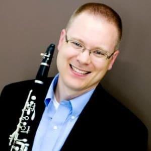 Trevor O' Riordan, clarinet
