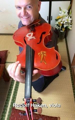 Rudolf Haken, viola
